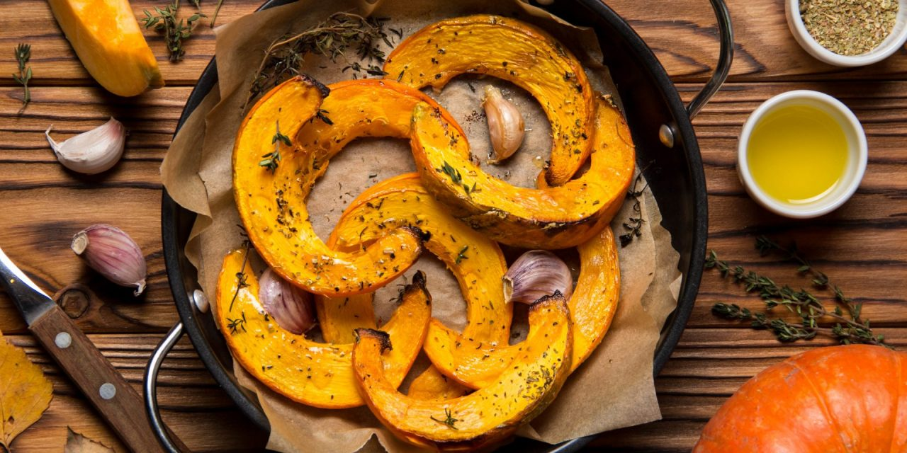 Ricette d'autunno: la zucca al forno