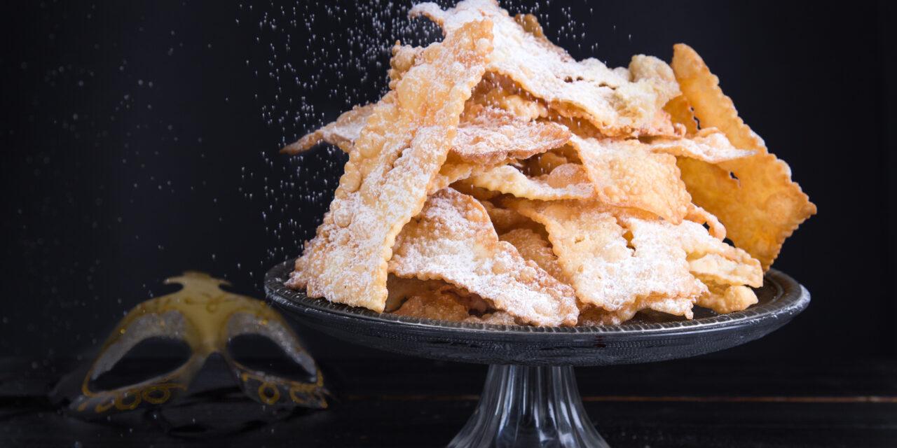Frappe di Carnevale al forno: ricetta leggera