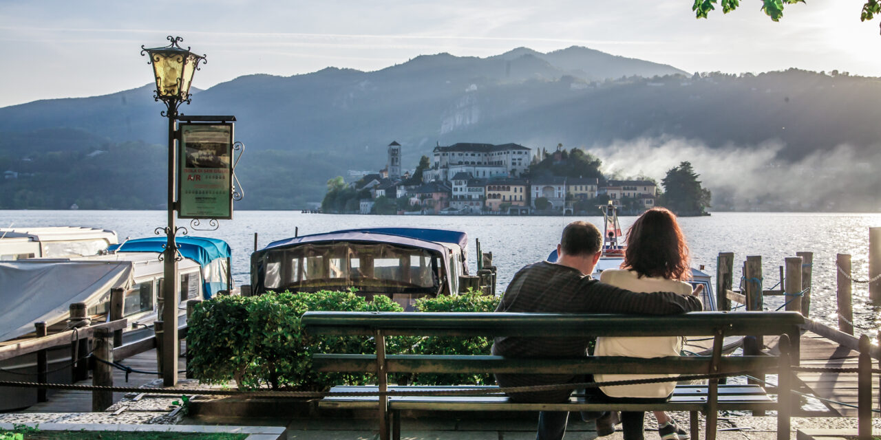 Fuga romantica: un weekend al lago