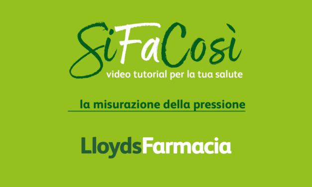 SiFaCosì: Come Misurare la pressione