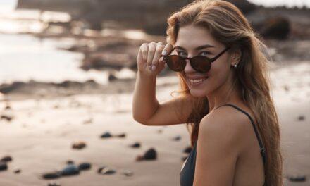 Proteggere gli occhi da sole, sabbia e secchezza