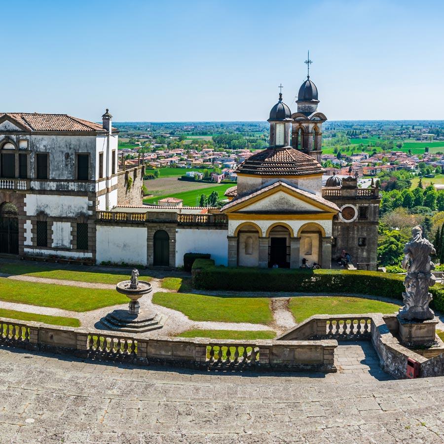 il santuario delle sette chiese di Monselice