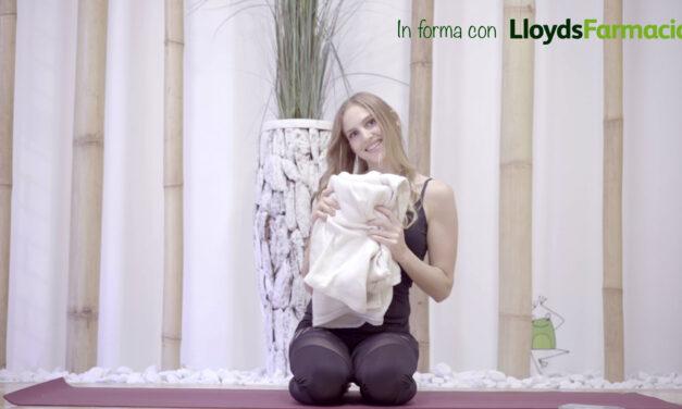 In forma con Lloyds: lo yoga per combattere l'insonnia