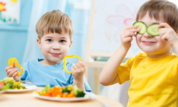 Alla scoperta della piramide alimentare: bambini, si parte!