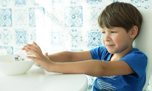 Bambini e inappetenza: come combatterla?