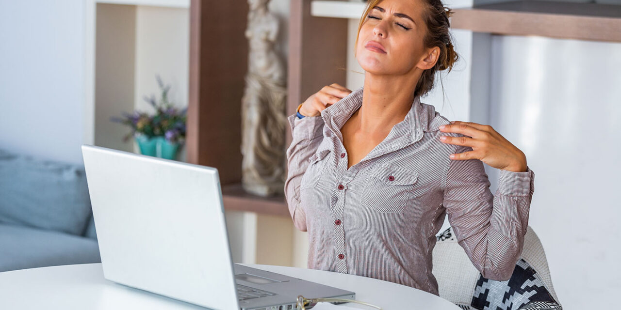 Ritrovare la postura corretta alla scrivania