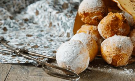 Ricetta: castagnole al forno senza burro