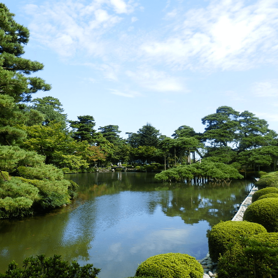 giardino botanico kenroku